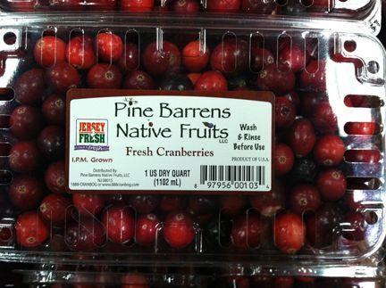 Pine Barren cranberries