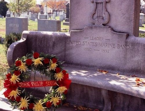 Sousa's birthday celebration at Congressional Cemetery